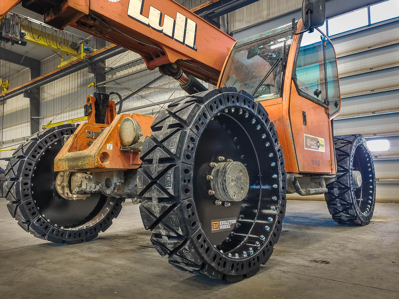 CAT telehandler tire