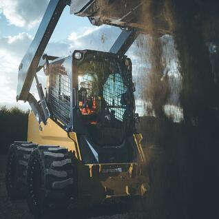 flat proof skid steer tires