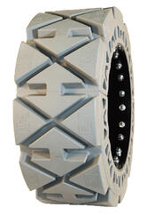 solid non marking skid steer tire