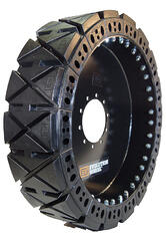 solid telehandler tire