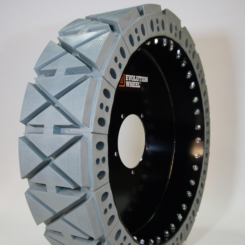 non marking solid telehandler tires