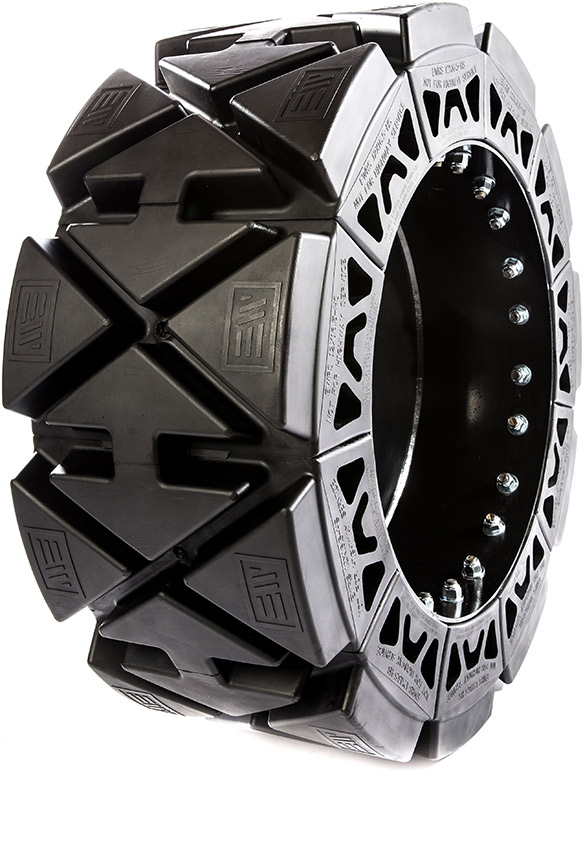 Hard Surface Skid Steer Tire