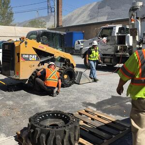 Tips to Avoid and Fix Flat Bobcat Tires